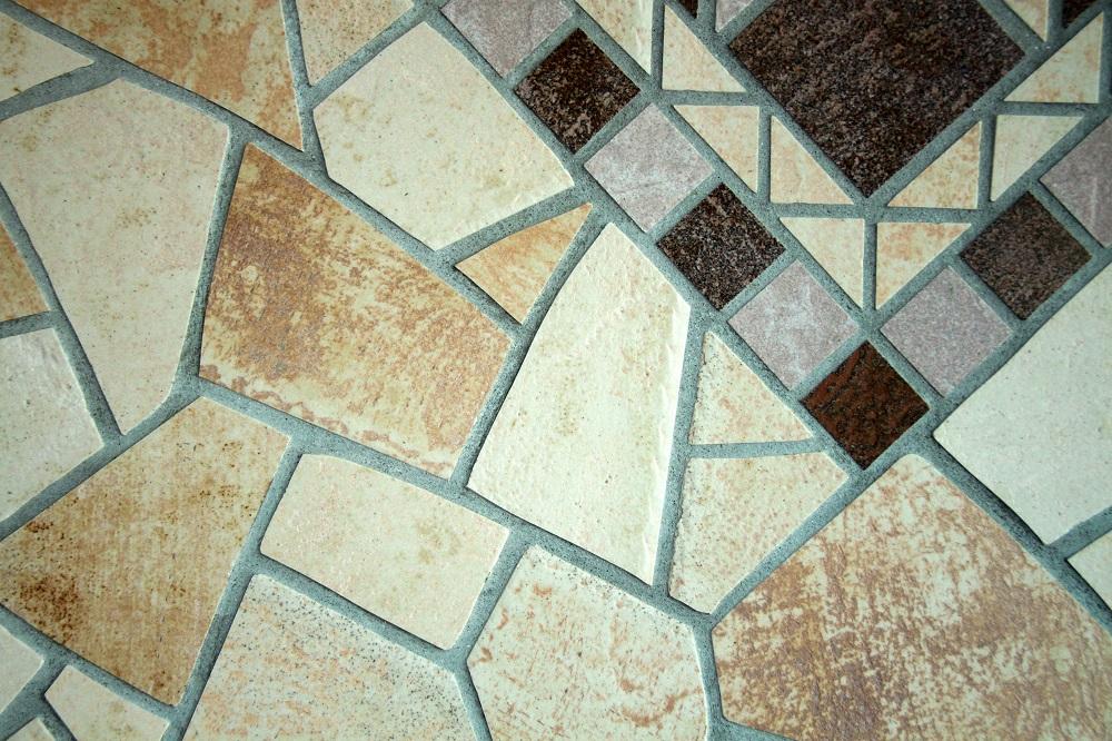 Płytki dekoracyjne podłogowe