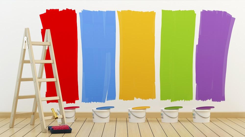 Kolory farb do pokoju młodzieżowego